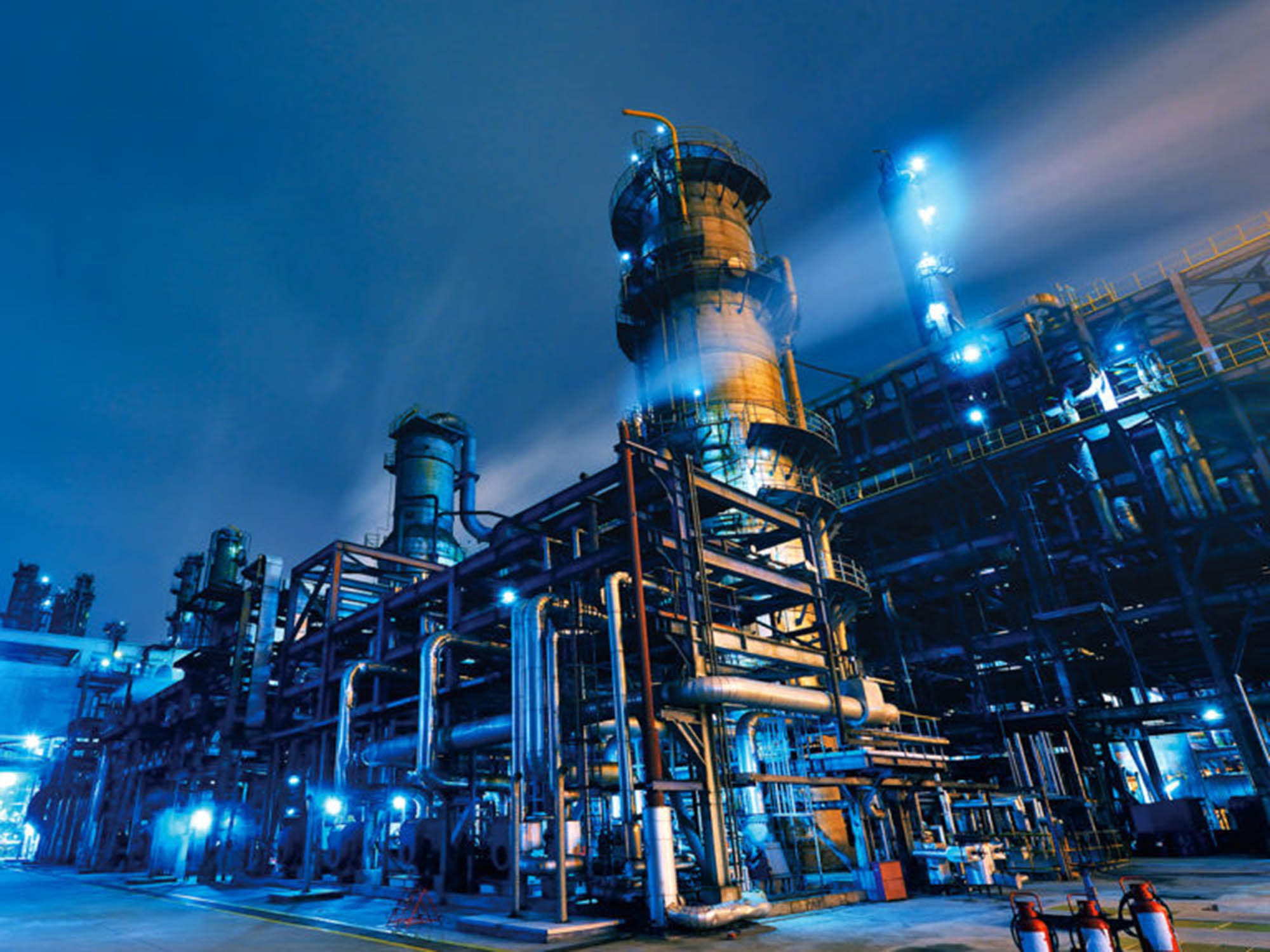 Oil Refinery, Chemical